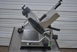 2018 HOBART EDGE 12-11 MANUAL MEAT / CHEESE SLICER with SHARPENER